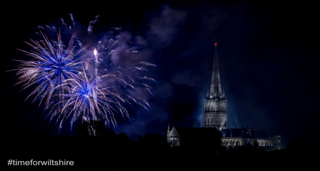Salisbury Cathedral Fireworks