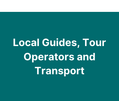 Local Guides and tour operators
