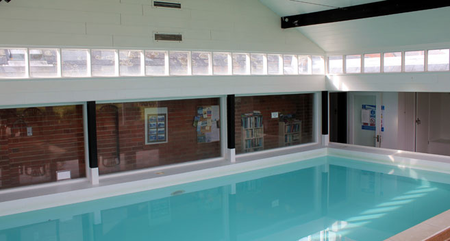 Conygre Farm swimming pool