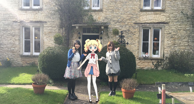 Japanese Anime at Fosse Farmhouse Castle Combe