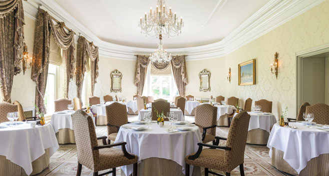 Restaurant Hywel Jones Lucknam Park Spa