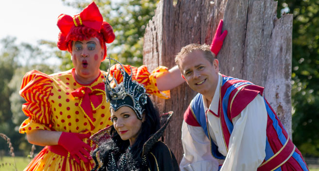 Sleeping beauty cast at Wyvern Theatre