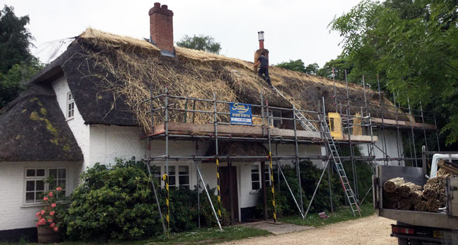 Thatched cottage, Ramsbury