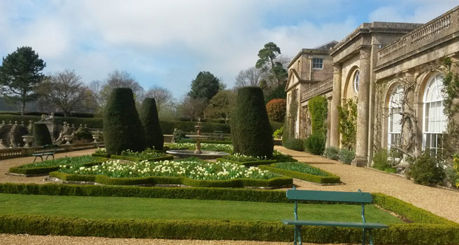 Bowood gardens in Wiltshire