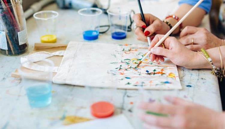 Arts and Crafts at Pound Arts Centre