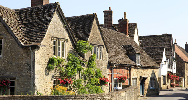The National Trust village of Lacock