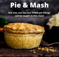 Online Cook Along - Pie & Mash