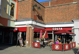 Costa Coffee Old George Mall