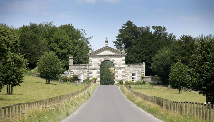 Fonthill estate archway