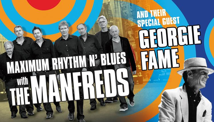 MAXIMUM RHYTHM AND BLUES  THE MANFREDS  With  GEORGIE FAME