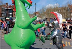 St George's Day Celebrations in Salisbury