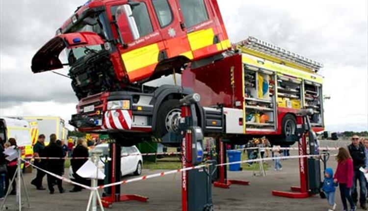 emergency services show visit wiltshire