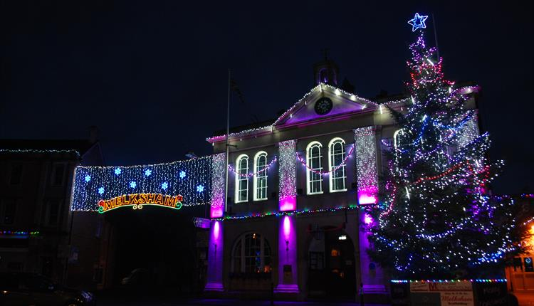 About - Melksham Christmas Fayre And Lights Switch On - Visit Wiltshire