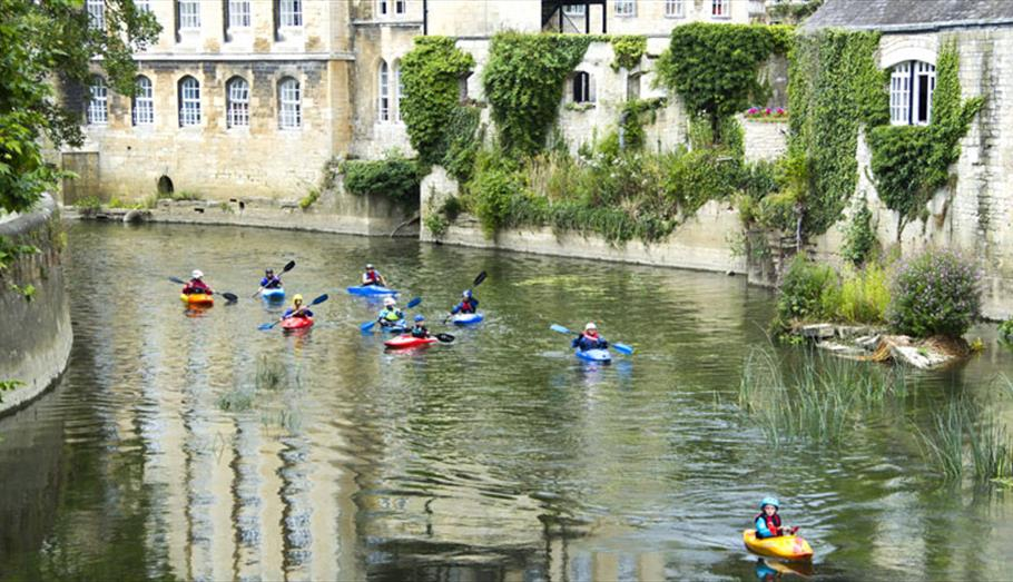 Canoeing in Bradford on Avon