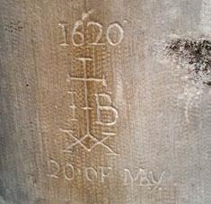 Salisbury Cathedral Graffiti