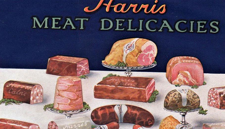 Selection of Harris meats
