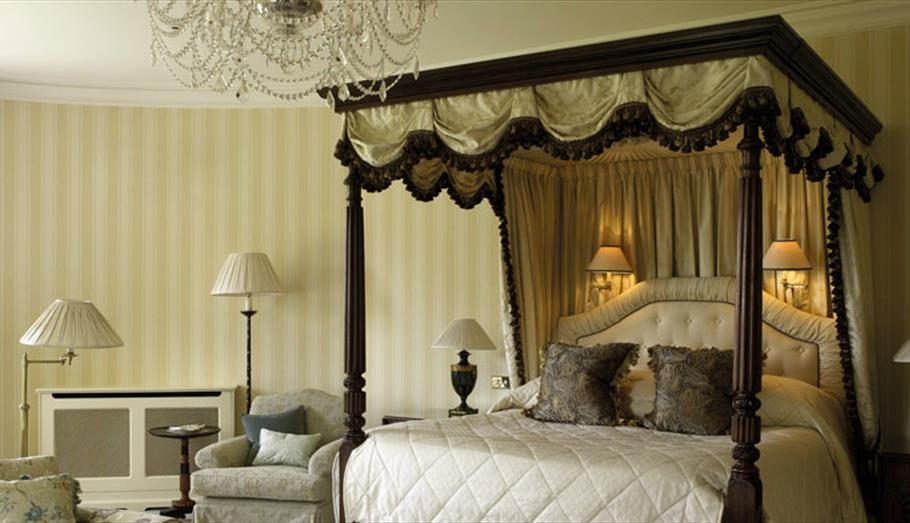 Lucknam Park Bedroom