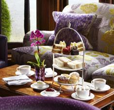 Afternoon tea at Manor House Hotel
