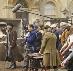 Filming Poldark in Corsham
