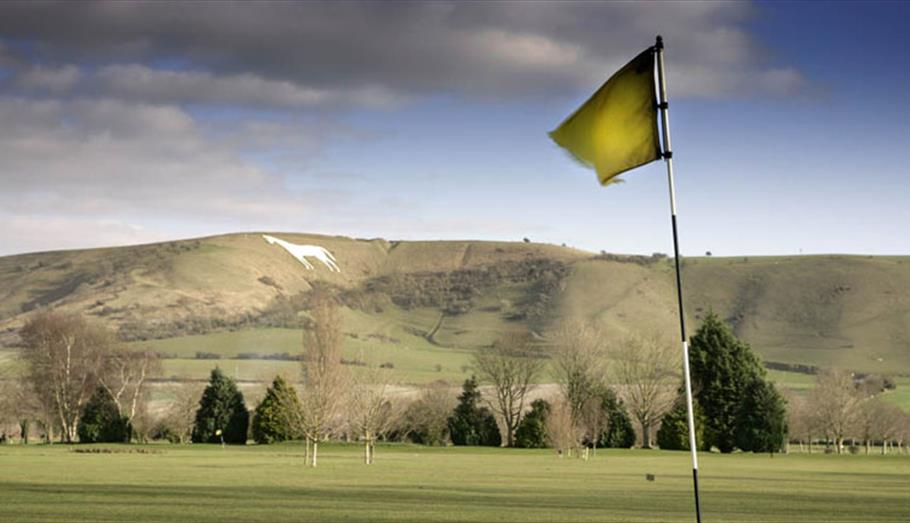 Golf at Wesbury, Wiltshire