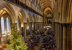 BBC Wiltshire Carols at the Cathedral