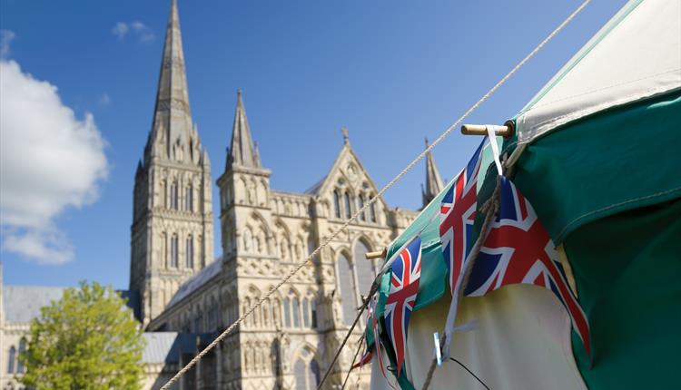 BBC Wiltshire's Royal Wedding Party at Salisbury Cathedral