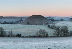 Ancient Wiltshire monument Silbury Hill