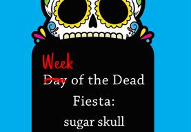 Week of the Dead Fiesta: sugar skull decoration
