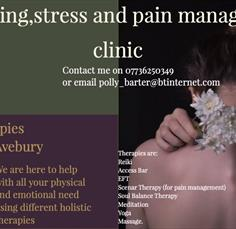 Wellbeing, stress and pain management clinic