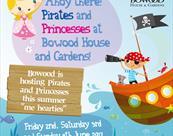 Ahoy there…Pirates and Princesses at Bowood House & Gardens!