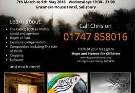 Photography Evening Classes in Salisbury