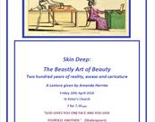Merchant's House Event: Skin Deep: The Beastly Art of Beauty by Amanda Herries