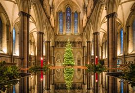 Festal Evensong on Christmas Day
