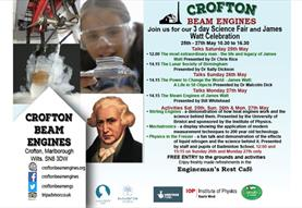 Science Fair and James Watt Celebration