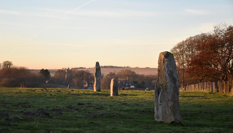 Join a guided walk of prehistoric Avebury The 'East of Avebury' circuit