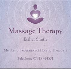 Massage with Esther