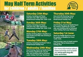 Half term activities across Wiltshire