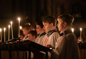 Festal Evensong on Christmas Eve
