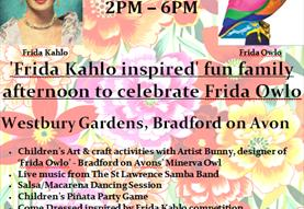 Frida Kahlo/Frida Owlo Fun Day