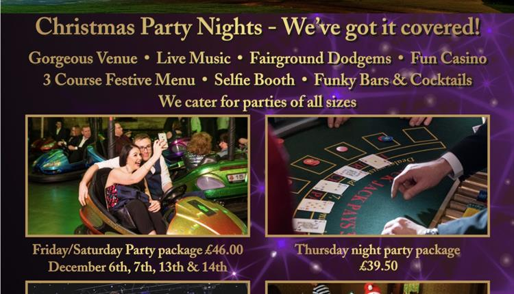 Christmas Party Nights at Grittleton House
