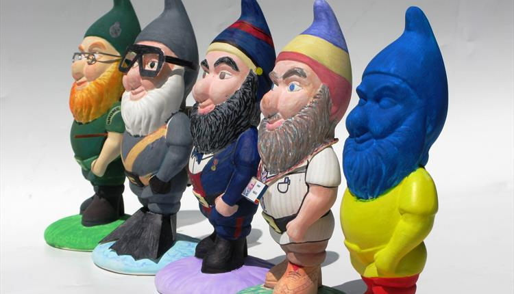The REME Museum Gnome Hunt