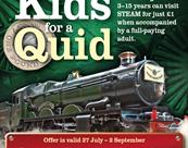 Kids for a Quid at STEAM