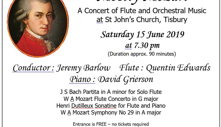 Mostly Mozart Concert for Flute and Orchestra