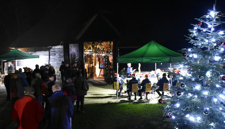Music, lights and merriment at Avebury Old Farmyard