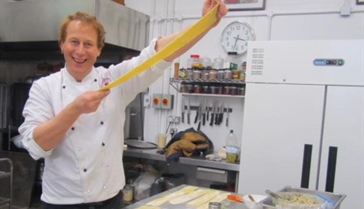 Pasta Cookery Class With Peter Vaughan