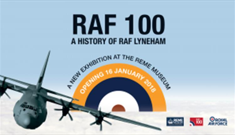 REME exhibition- RAF100: A History Of RAF Lyneham
