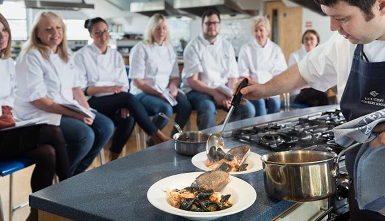 Seafood cookery masterclass with Rick Stein's Cookery School at Rick Stein Marlborough