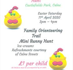Annual Easter Egg & Bunny Hunt