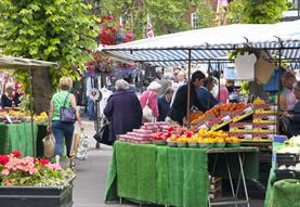 Salisbury Charter Market - TEMPORARILY CANCELLED