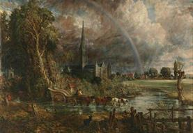 Constable in Context: Salisbury Cathedral from the Meadows in perspective